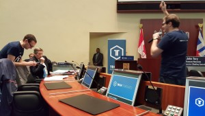 John Tory, Mayor of Toronto, working with the Tech community at TechTO