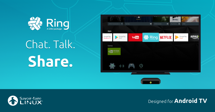 Ring Universal Communication Platform Now on Android TV!