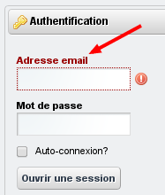 Modification de texte / Avant