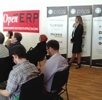 Vue partielle du séminaire openERP 2013 à Montréal