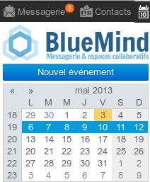 Détail du bureau BlueMind