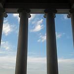 Colonnade antique