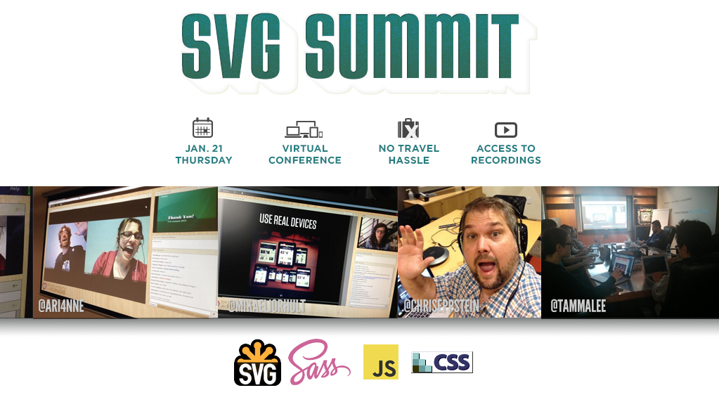 Affiche Web du SVG Summit 2016