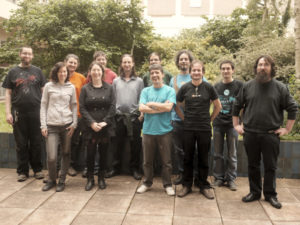 L'équipe de Grafik Labor, 2016